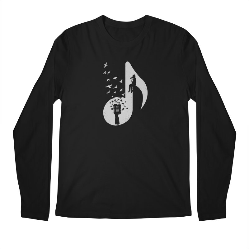 Musical - Singer Men's Longsleeve T-Shirt by barmalisiRTB