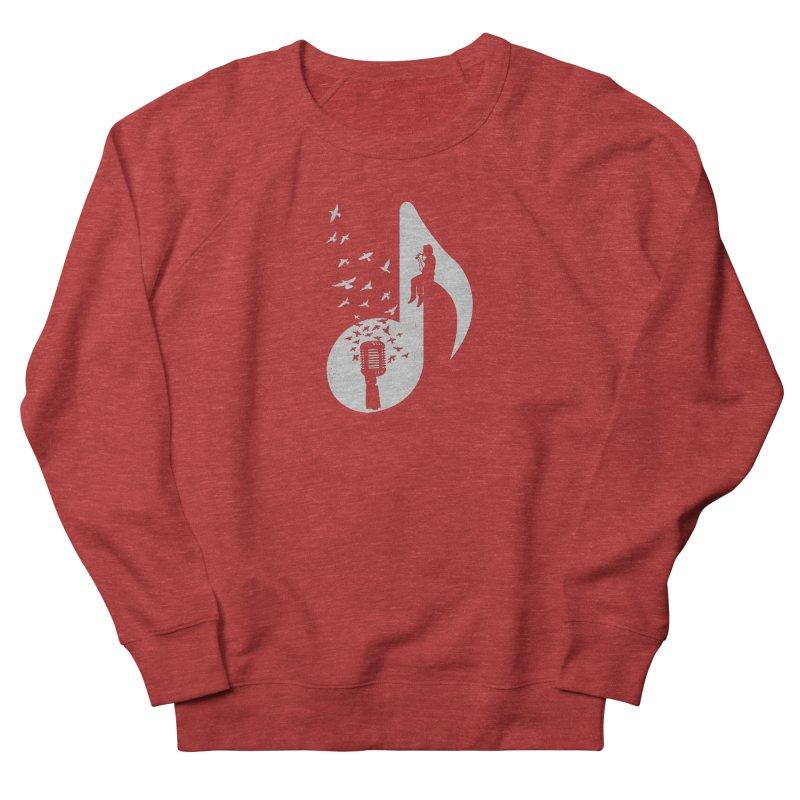 Musical - Singer Men's French Terry Sweatshirt by barmalisiRTB