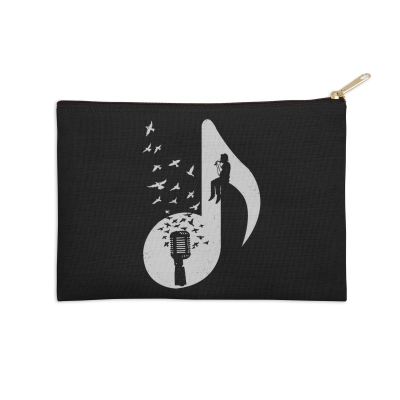 Musical - Singer Accessories Zip Pouch by barmalisiRTB