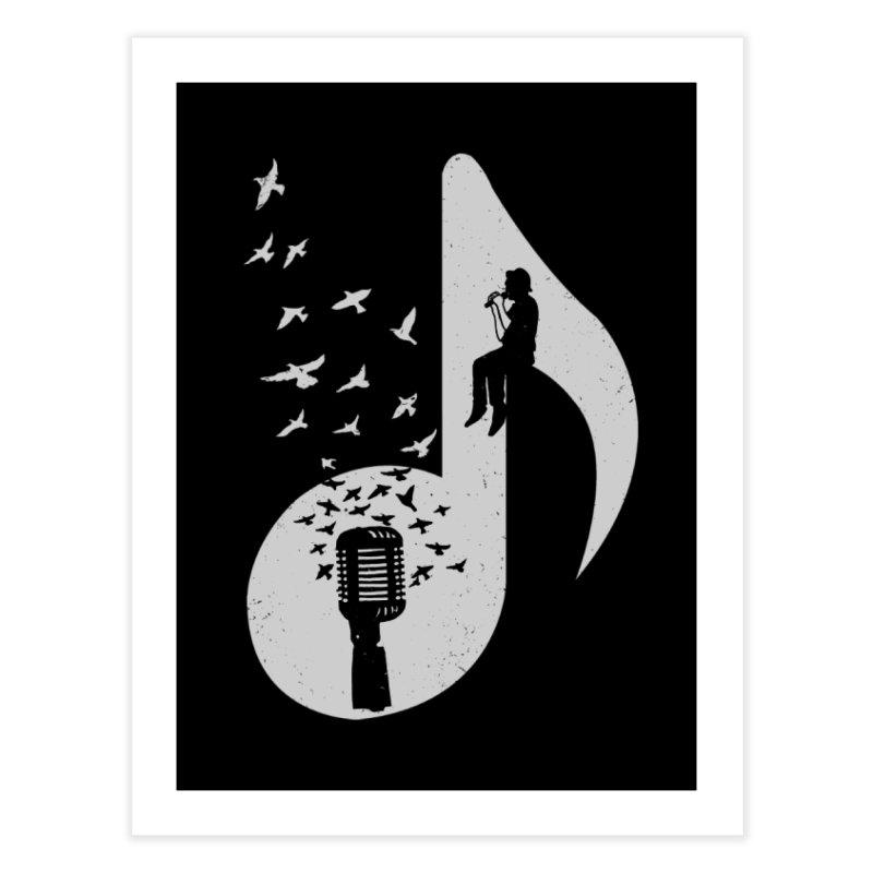 Musical - Singer Home Fine Art Print by barmalisiRTB
