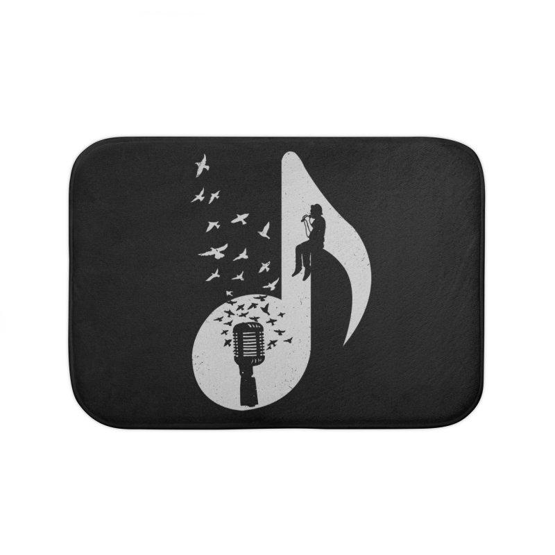 Musical - Singer Home Bath Mat by barmalisiRTB