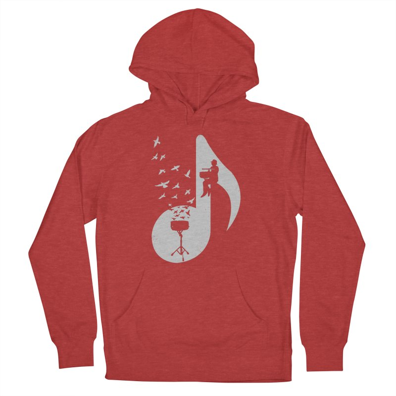 Musical - Snare Drum Men's French Terry Pullover Hoody by barmalisiRTB