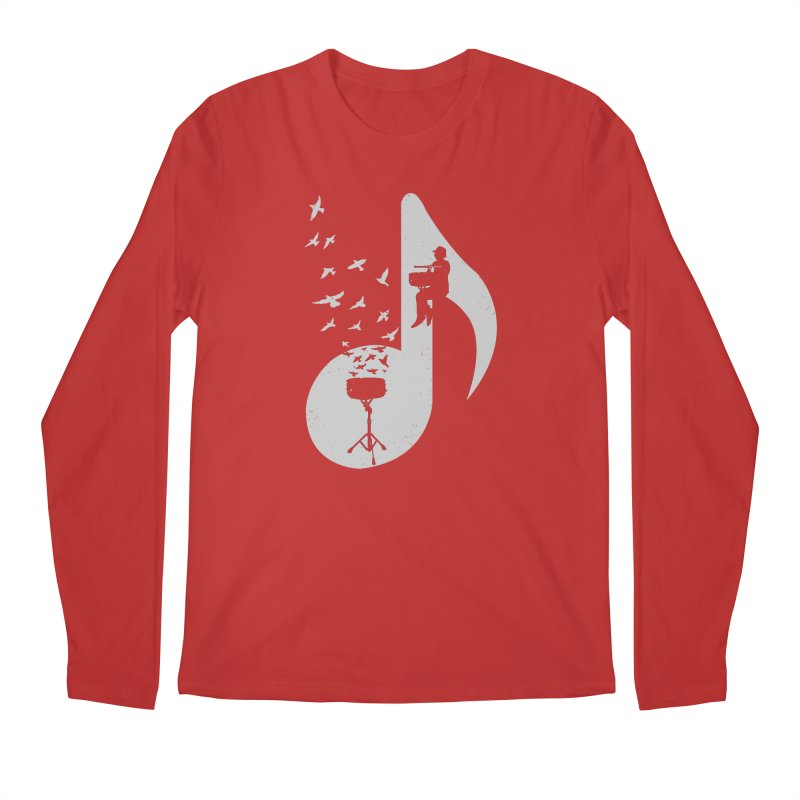 Musical - Snare Drum Men's Longsleeve T-Shirt by barmalisiRTB