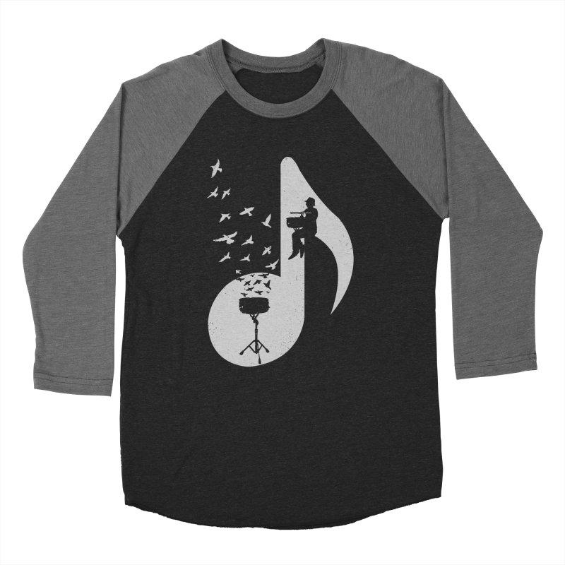 Musical - Snare Drum Men's Baseball Triblend T-Shirt by barmalisiRTB