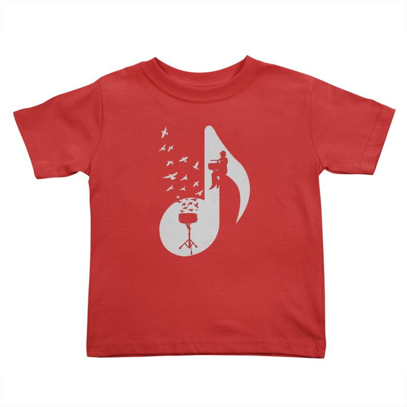 Musical - Snare Drum Kids Toddler T-Shirt by barmalisiRTB