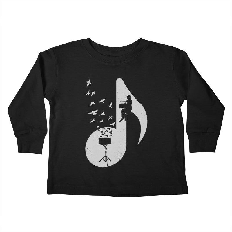 Musical - Snare Drum Kids Toddler Longsleeve T-Shirt by barmalisiRTB