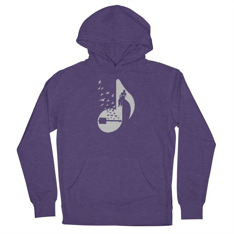 Musical- Cigar Box Guitar Women's French Terry Pullover Hoody by barmalisiRTB