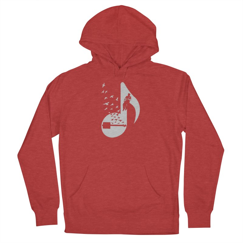 Musical- Cigar Box Guitar Men's French Terry Pullover Hoody by barmalisiRTB