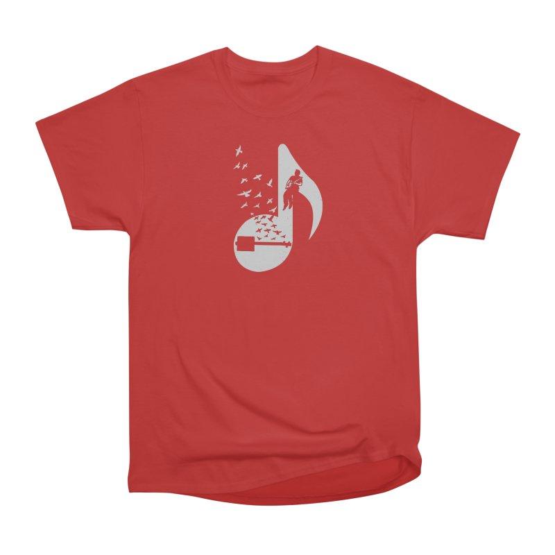 Musical- Cigar Box Guitar Women's Classic Unisex T-Shirt by barmalisiRTB
