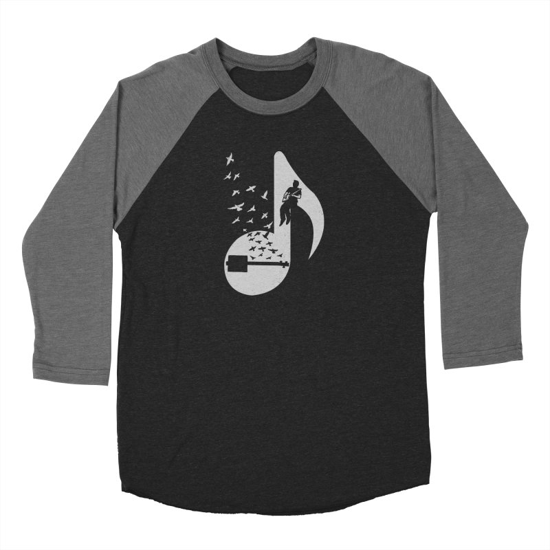 Musical- Cigar Box Guitar Women's Baseball Triblend T-Shirt by barmalisiRTB