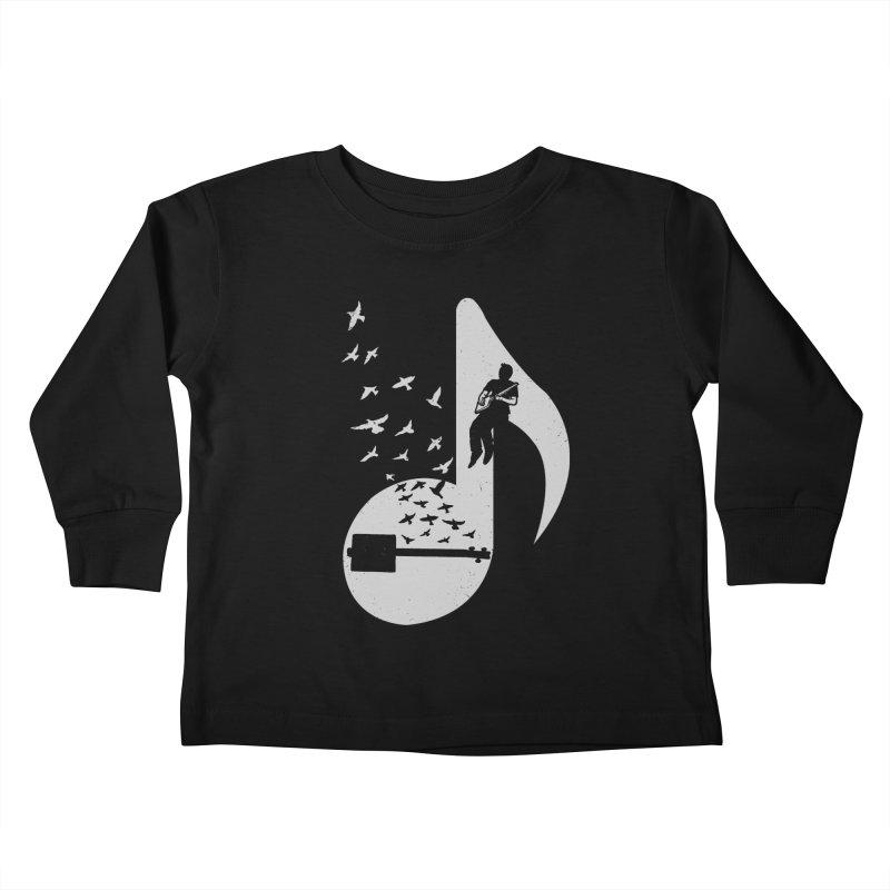 Musical- Cigar Box Guitar Kids Toddler Longsleeve T-Shirt by barmalisiRTB