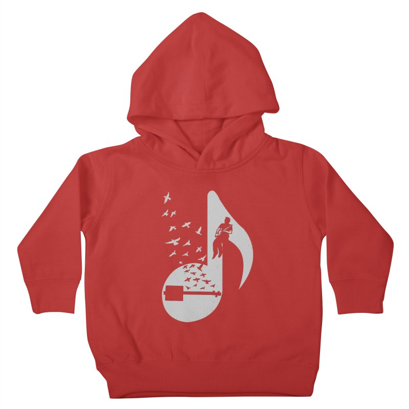 Musical- Cigar Box Guitar Kids Toddler Pullover Hoody by barmalisiRTB