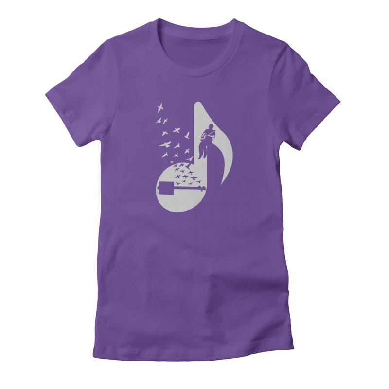 Musical- Cigar Box Guitar Women's T-Shirt by barmalisiRTB