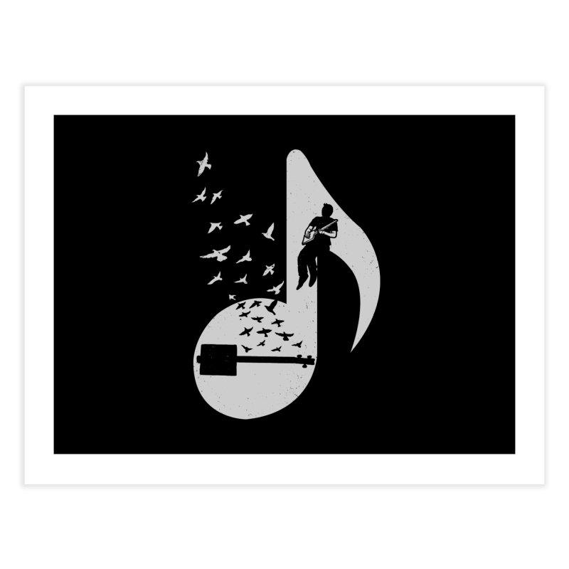 Musical- Cigar Box Guitar Home Fine Art Print by barmalisiRTB