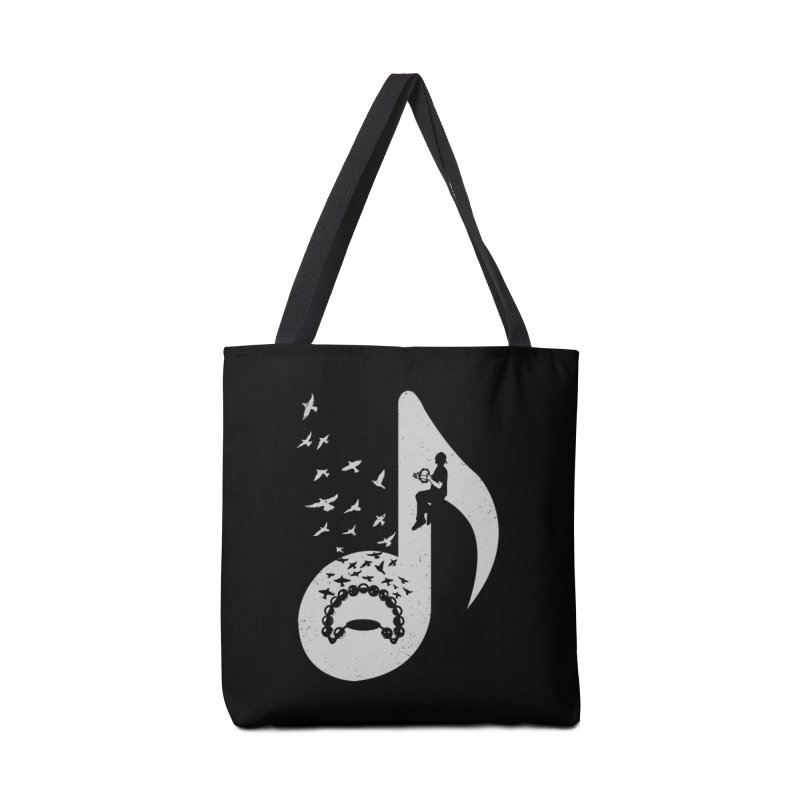 Musical note - Tambourine Accessories Bag by barmalisiRTB