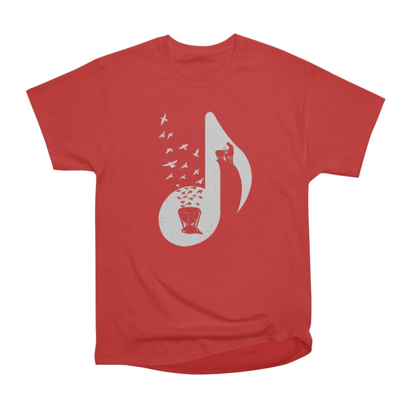 Musical note - Timpani Men's T-Shirt by barmalisiRTB
