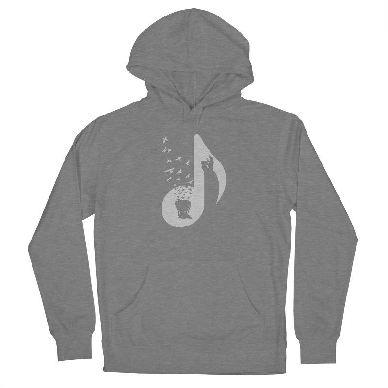 Musical note - Timpani Women's Pullover Hoody by barmalisiRTB