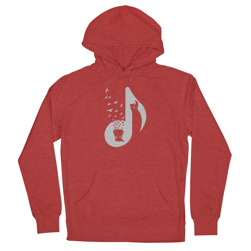 Musical note - Timpani Men's Pullover Hoody by barmalisiRTB