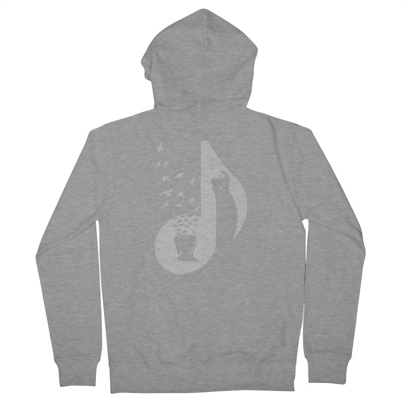 Musical note - Timpani Men's French Terry Zip-Up Hoody by barmalisiRTB