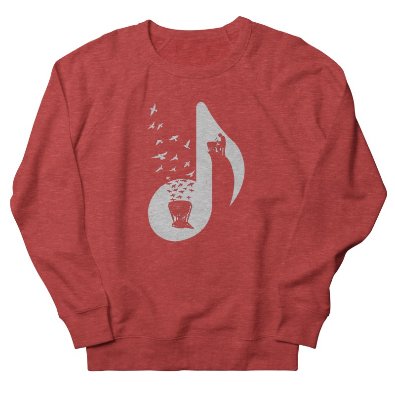 Musical note - Timpani Men's Sweatshirt by barmalisiRTB