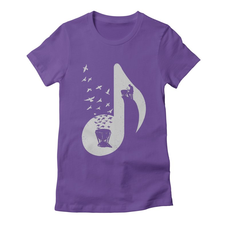 Musical note - Timpani Women's T-Shirt by barmalisiRTB