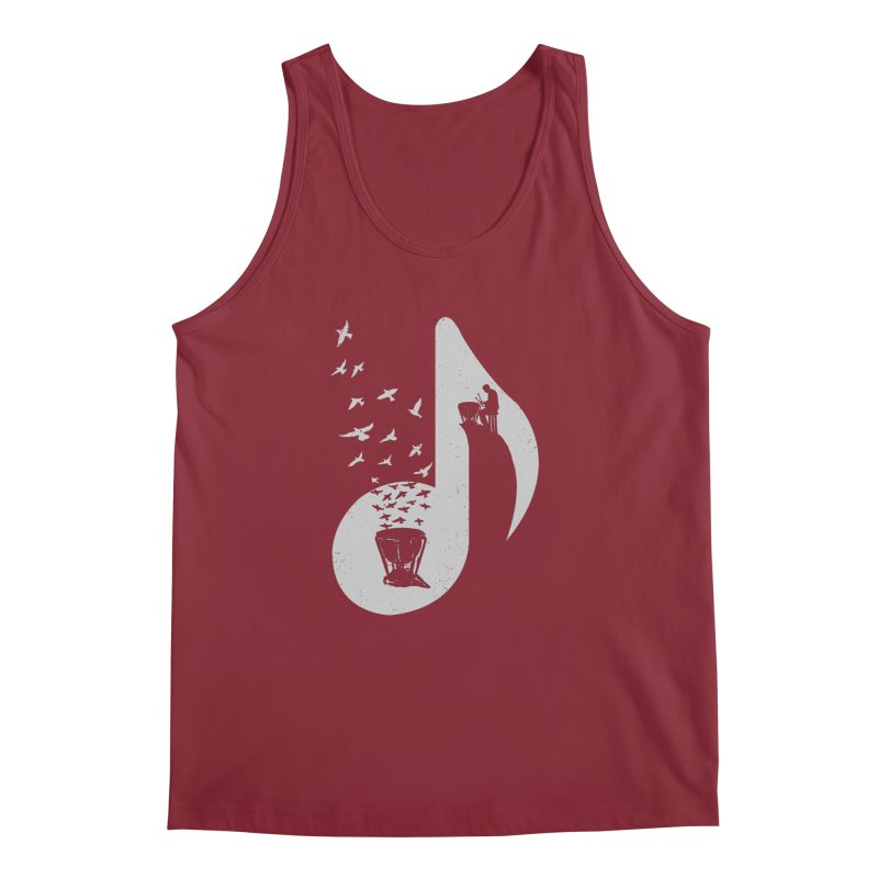 Musical note - Timpani Men's Tank by barmalisiRTB