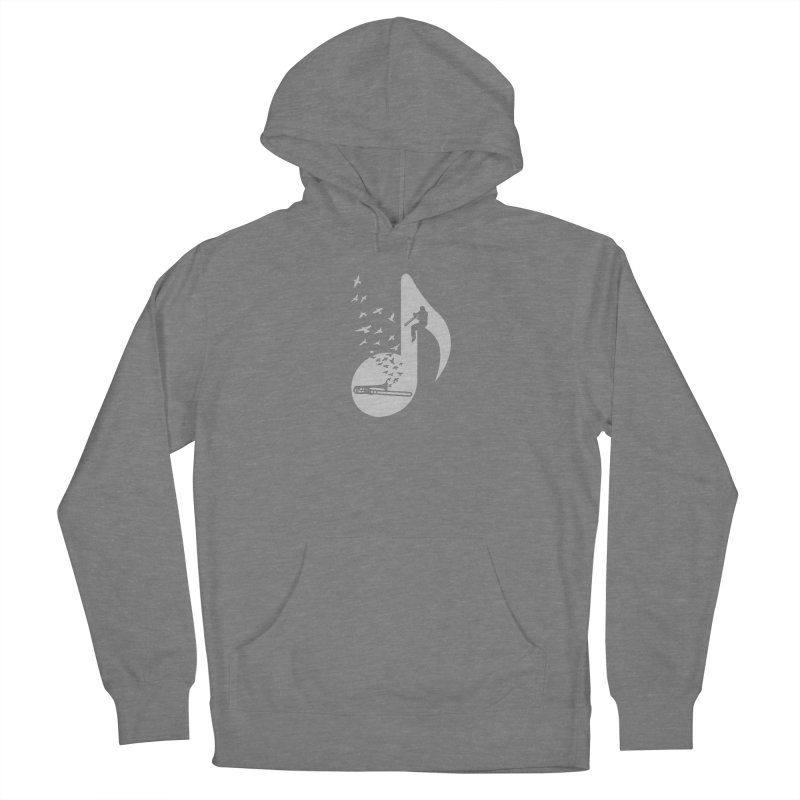 Musical note - Trombone Women's Pullover Hoody by barmalisiRTB