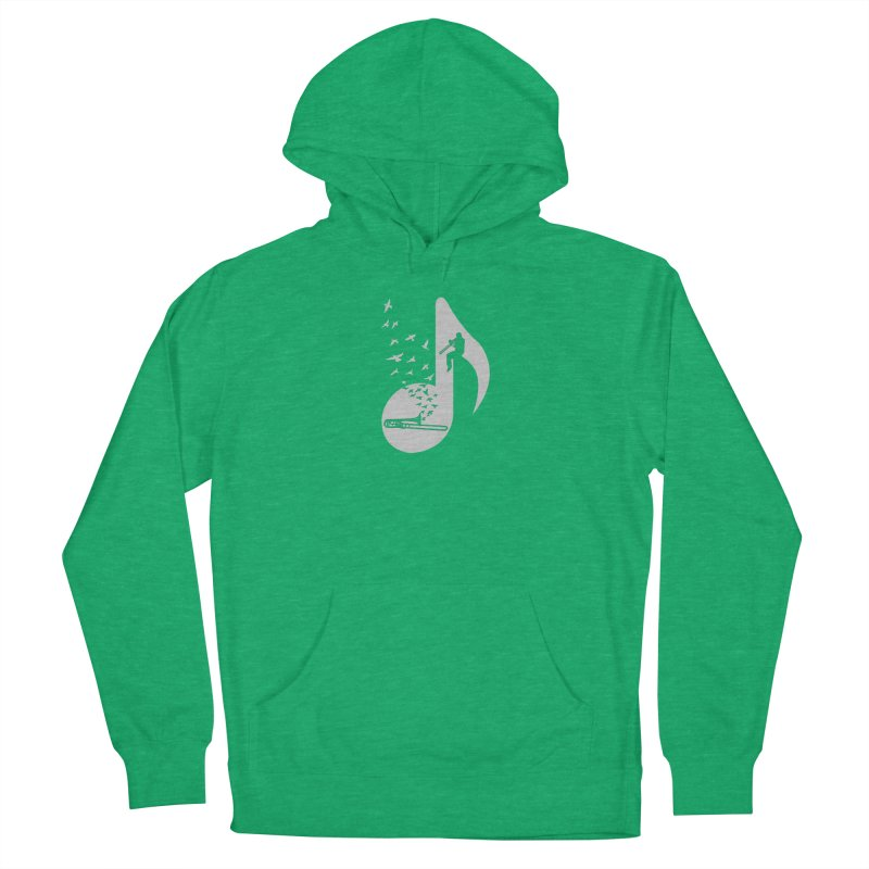Musical note - Trombone Women's Pullover Hoody by barmalisiRTB