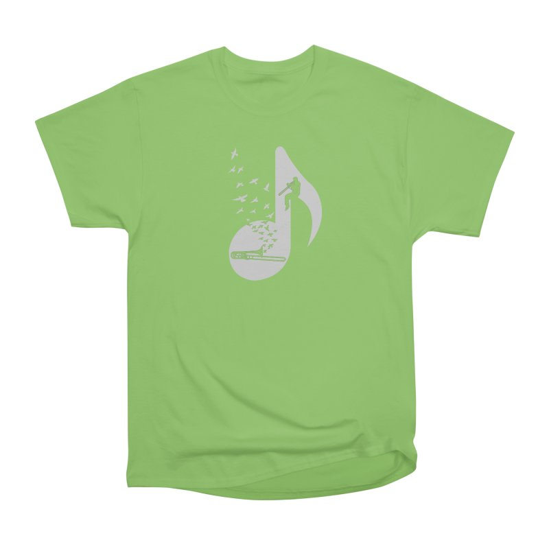 Musical note - Trombone Men's  by barmalisiRTB