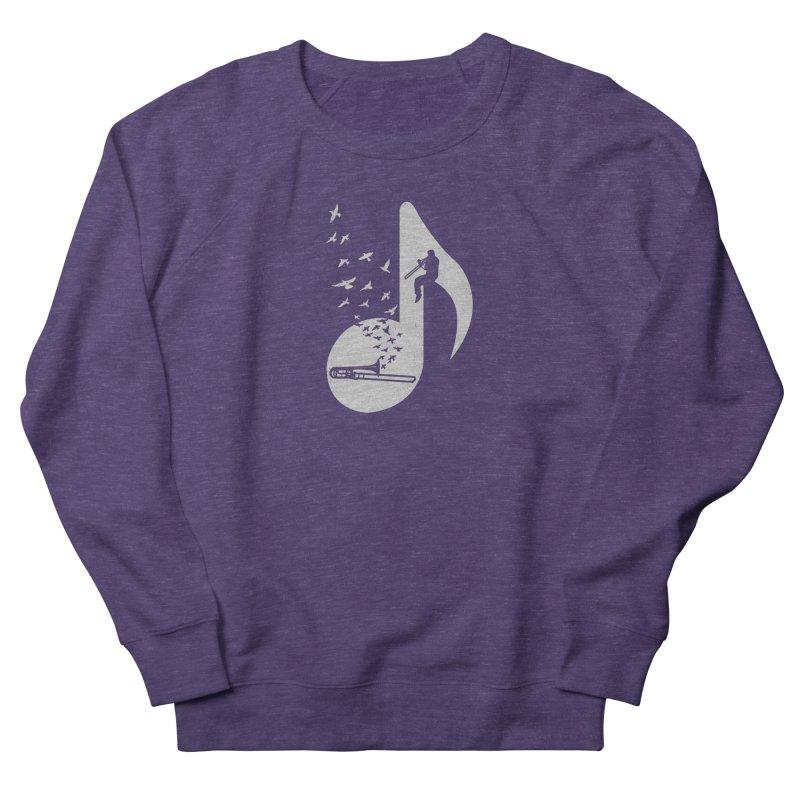 Musical note - Trombone Men's Sweatshirt by barmalisiRTB