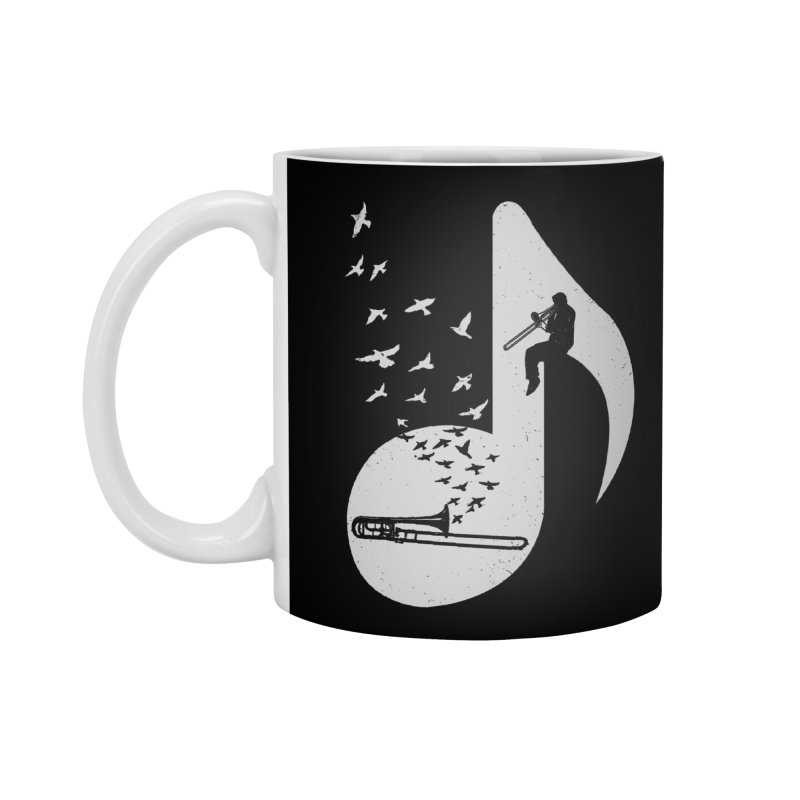 Musical note - Trombone Accessories Mug by barmalisiRTB