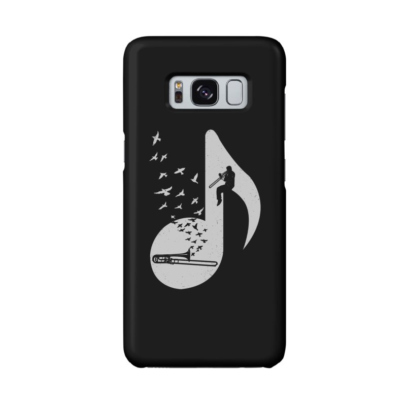 Musical note - Trombone Accessories Phone Case by barmalisiRTB
