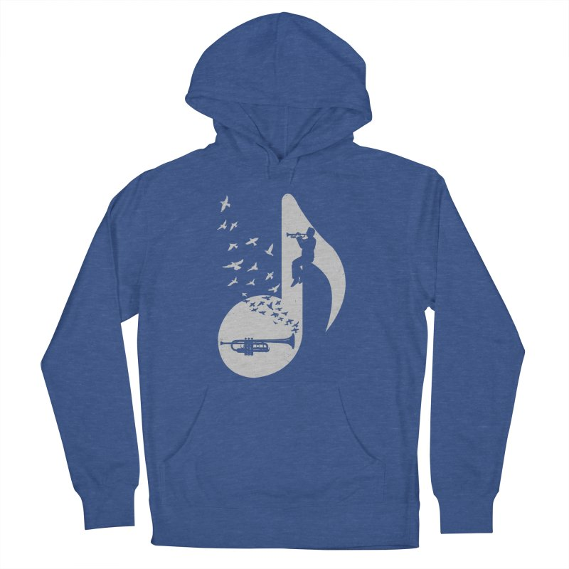 Musical note - Trumpet Men's Pullover Hoody by barmalisiRTB