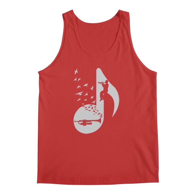 Musical note - Trumpet Men's Regular Tank by barmalisiRTB