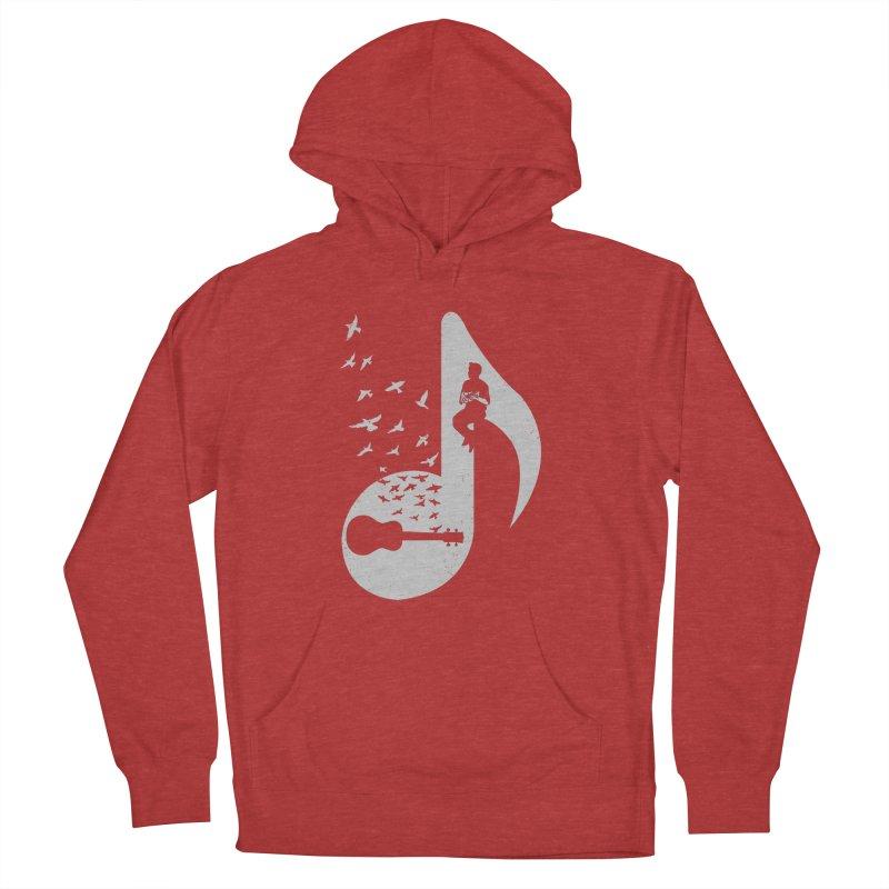 Musical note - Ukulele Men's Pullover Hoody by barmalisiRTB