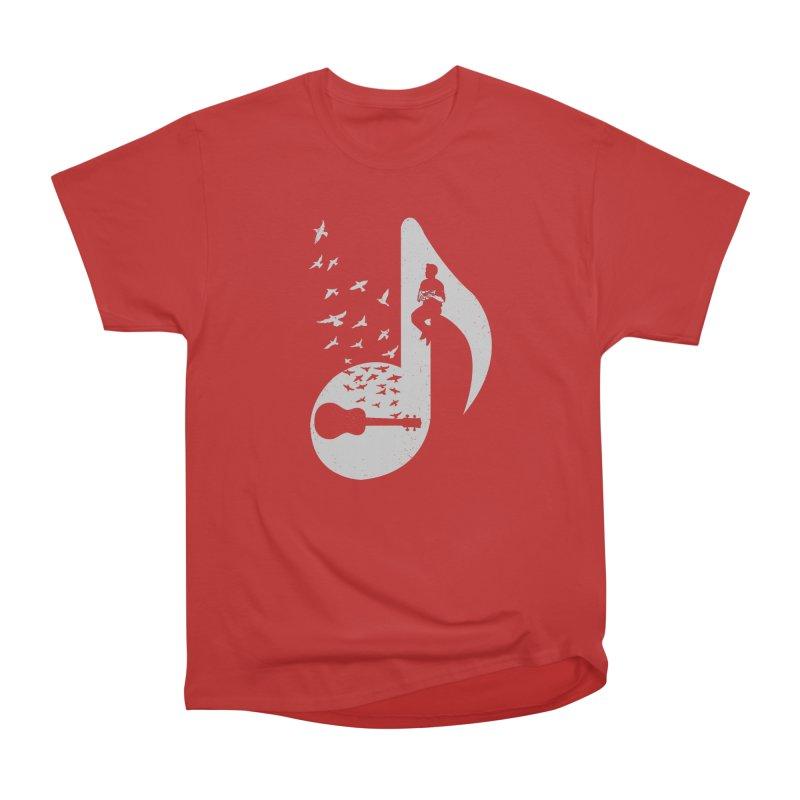 Musical note - Ukulele Men's T-Shirt by barmalisiRTB