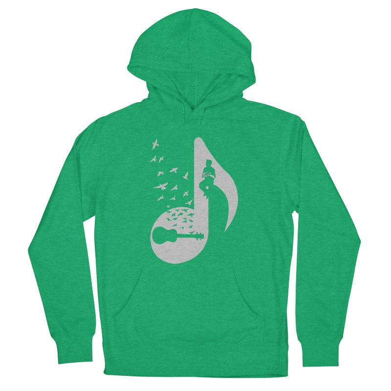 Musical note - Ukulele Women's Pullover Hoody by barmalisiRTB