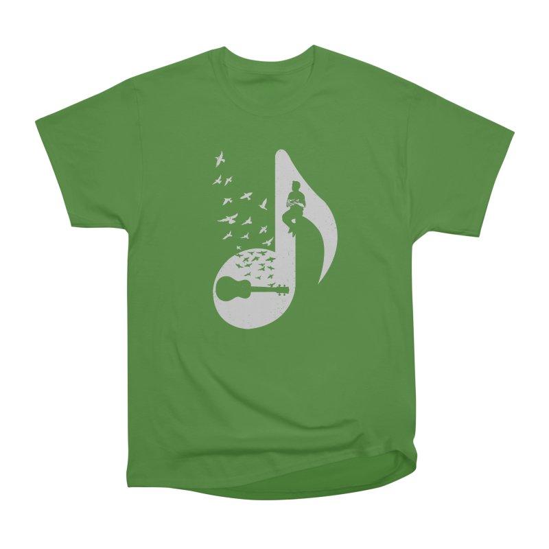 Musical note - Ukulele Women's Classic Unisex T-Shirt by barmalisiRTB