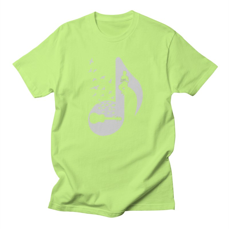 Musical note - Ukulele Women's T-Shirt by barmalisiRTB