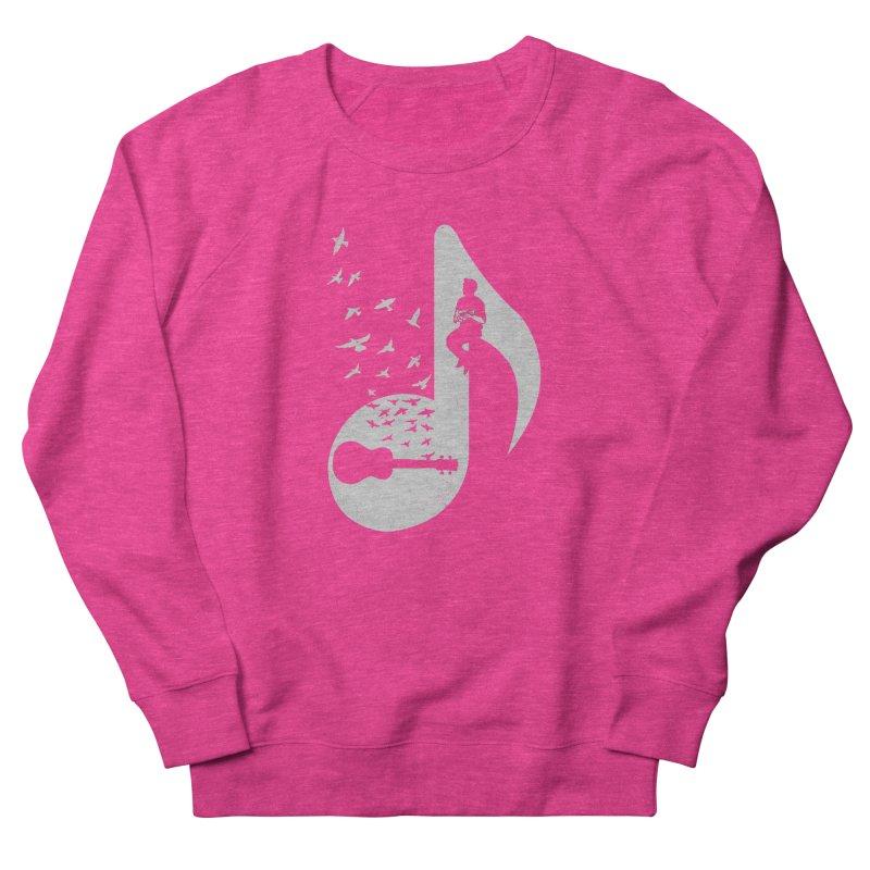 Musical note - Ukulele Women's Sweatshirt by barmalisiRTB