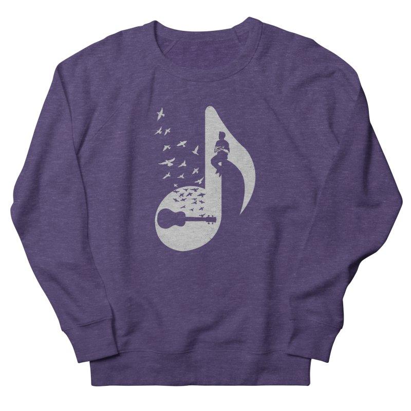Musical note - Ukulele Men's Sweatshirt by barmalisiRTB