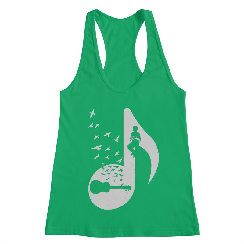 Musical note - Ukulele Women's Tank by barmalisiRTB