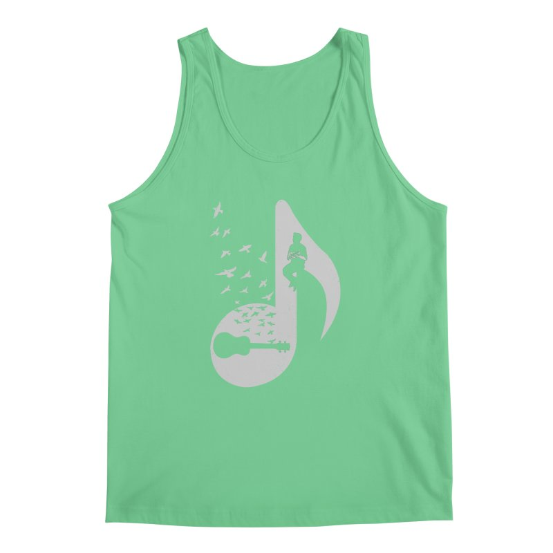 Musical note - Ukulele Men's Tank by barmalisiRTB