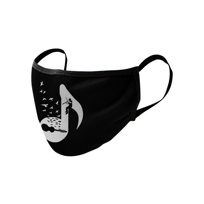 Musical note - Viola Damore Accessories Face Mask by barmalisiRTB