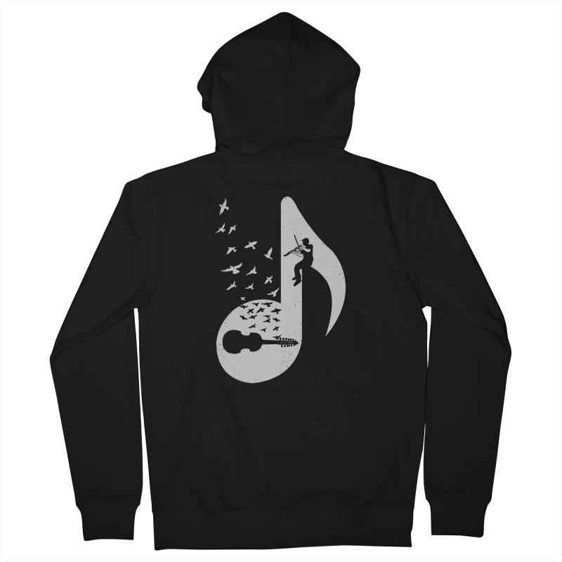 Musical note - Viola Damore Women's Zip-Up Hoody by barmalisiRTB