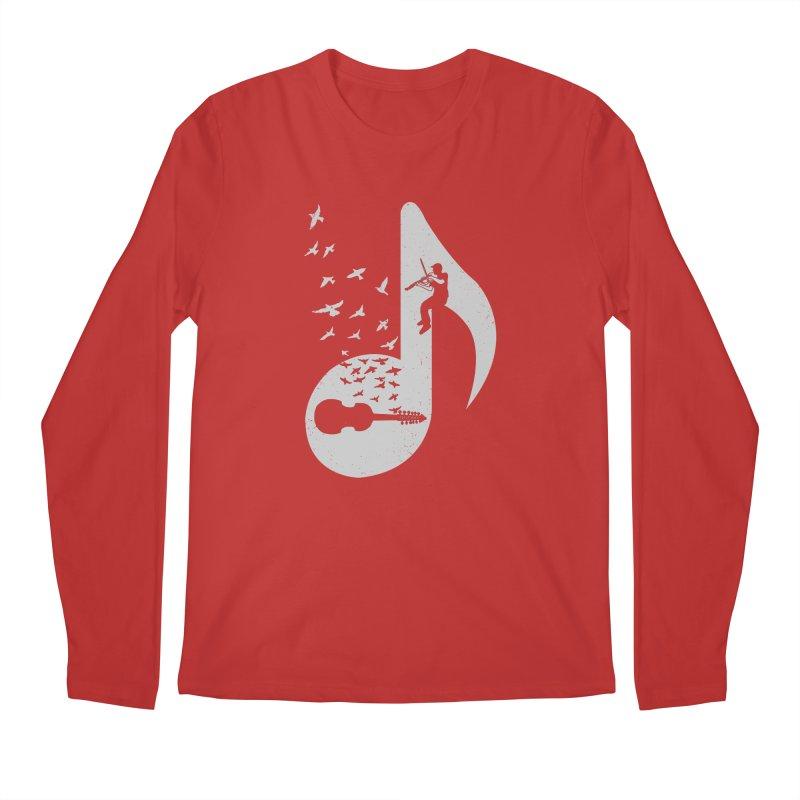 Musical note - Viola Damore Men's Longsleeve T-Shirt by barmalisiRTB