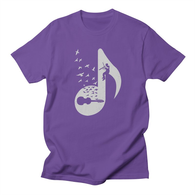 Musical note - Viola Damore Men's Regular T-Shirt by barmalisiRTB