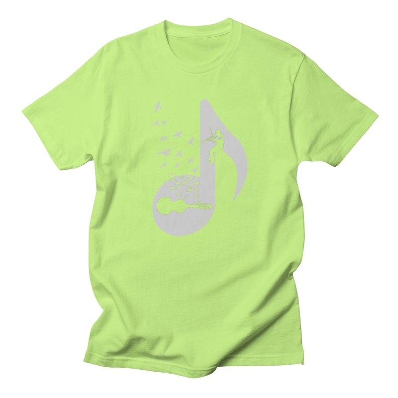 Musical note - Viola Damore Women's Regular Unisex T-Shirt by barmalisiRTB