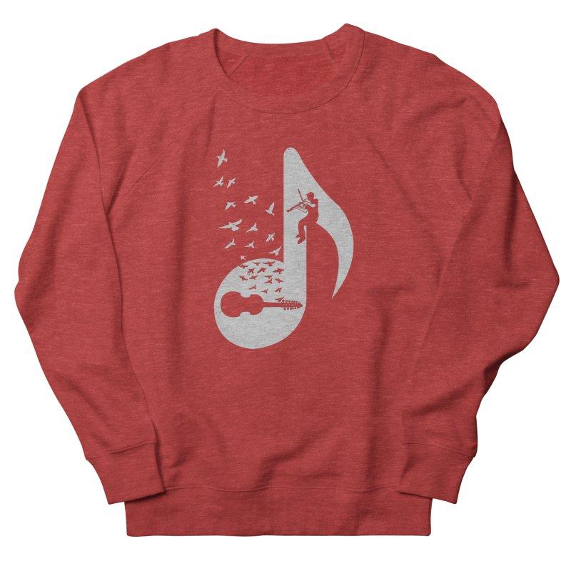 Musical note - Viola Damore Men's Sweatshirt by barmalisiRTB