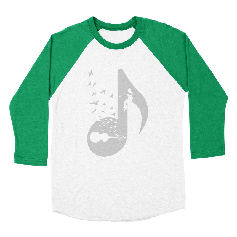 Musical note - Viola Damore Women's Baseball Triblend T-Shirt by barmalisiRTB